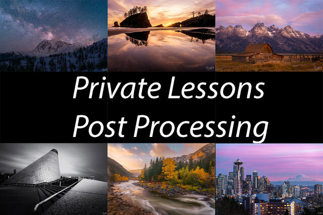 1 Hour Post Processing Lessons